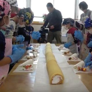 国土第一警備保障【城南保育園の園児達とのクリスマスケーキづくり】