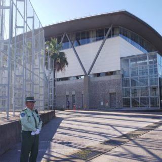 スポーツ大会の警備
