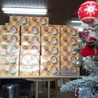 今年もクリスマス前にサンタさんが来ました。